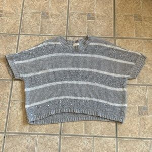 Knitted with sparkles children's sweater